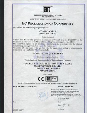 CE RG6